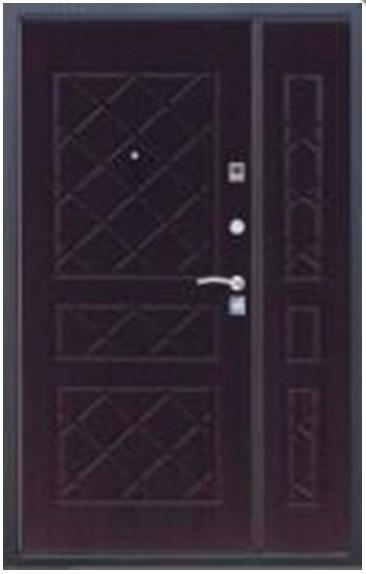 металлические двери на 1200